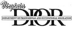 Virginia Department of Professional and Occupational Regulation
