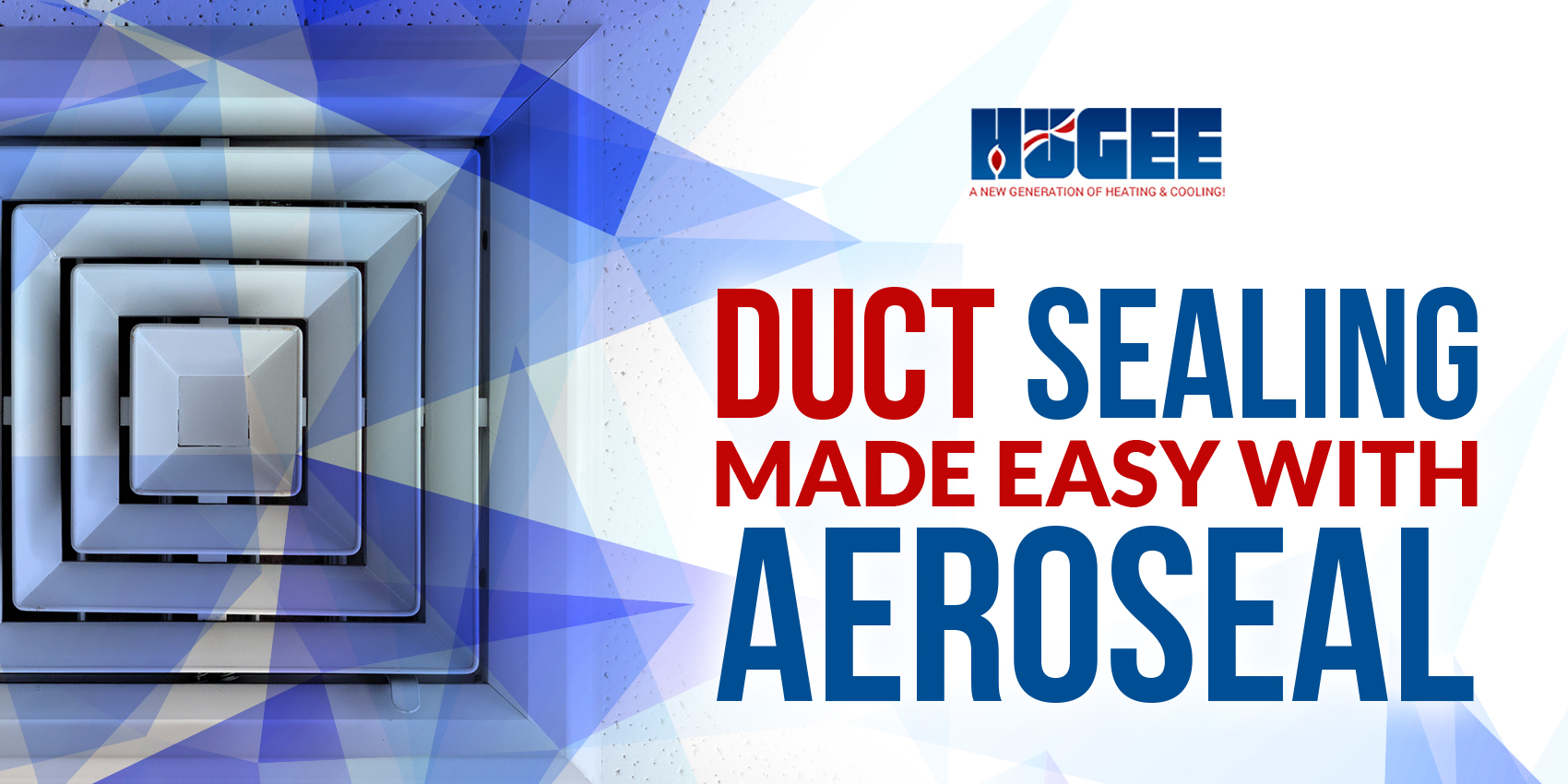 Duct Sealing Made Easy With Aeroseal!
