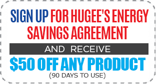 Sign Up for Hugee's Energy Savings Agreement