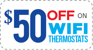 $50 OFF on WiFi Thermostats