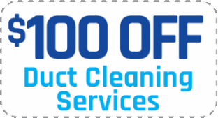 $100 OFF duct cleaning services