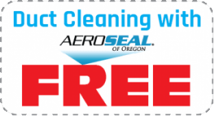Duct cleaning with Aeroseal